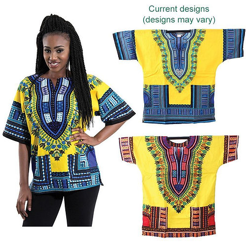 South African Collection ~Unisex Dashiki Short sleeve