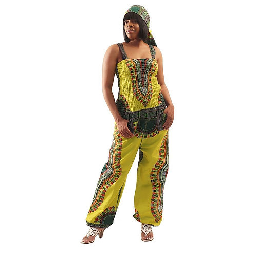 ImPowered Picks ~ Traditional Print Jumpsuit