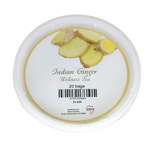 South African Collection ~ Indian Ginger Wellness Tea: 20 bags