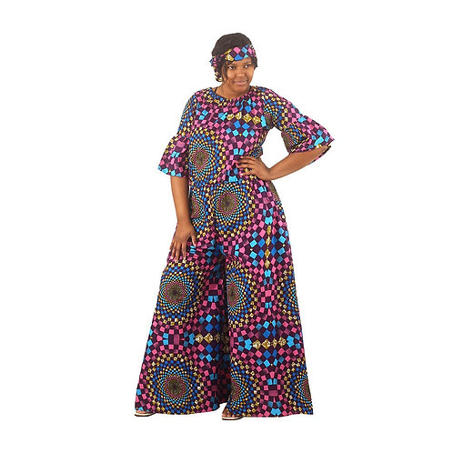 South African Collection ~ Palazzo-Jumpsuit