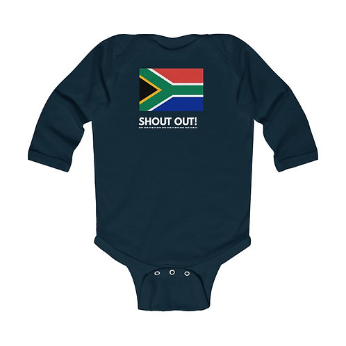 South African Collection~Infant Long Sleeve Bodysuit