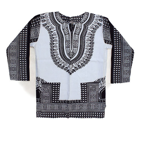 South African Collection~Unisex Dashiki long sleeve