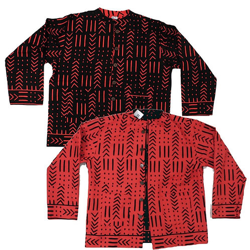 ImPowered Picks ~ Reversible Mud Print Jacket