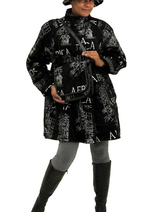 ImPowered Pick ~ Suede Africa Coat w/ Hat & Bag