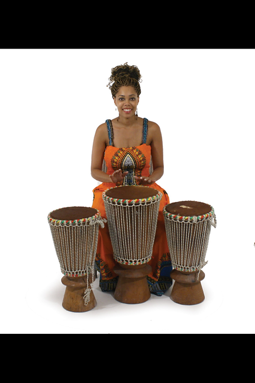 South African Collection ~ Djembe Drum Full Size