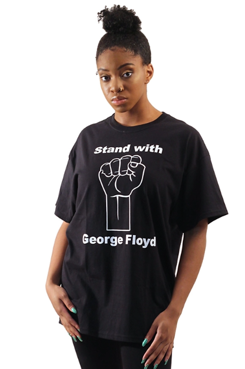 ImPowered Pick ~ Stand With George Floyd T-Shirt