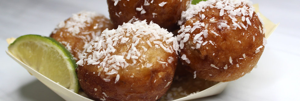 The Coconut & Lime Puff Puff (5pcs)