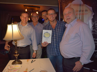 Lançamento do livro Pauta Oculta do Empreendedor reúne empreendedores, investidores e jornalistas no