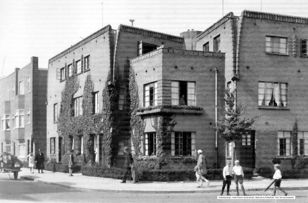 Hoek Hissink Jansenstraat - Baart de la Faillestraat foto De Huismeesters