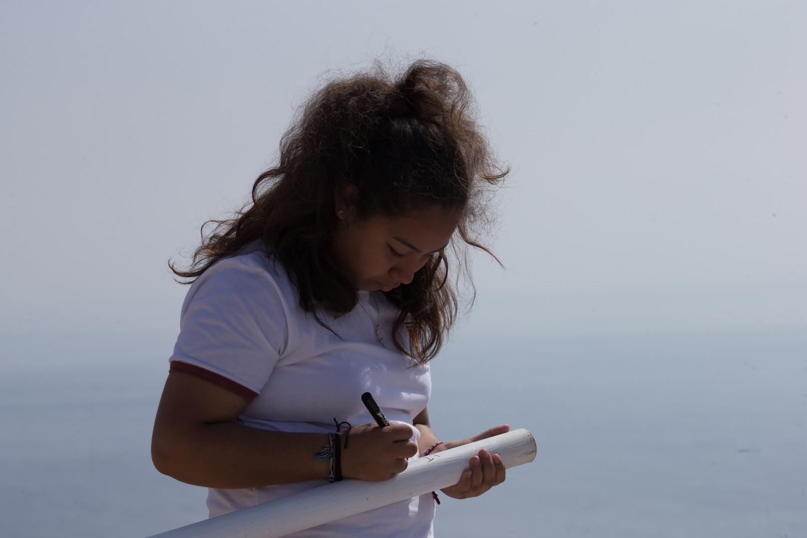 2019 Enterrar las banderas en el mar Act