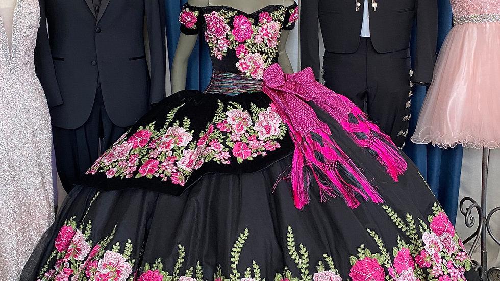 Ragazza Mariachi Quinceañera Dress