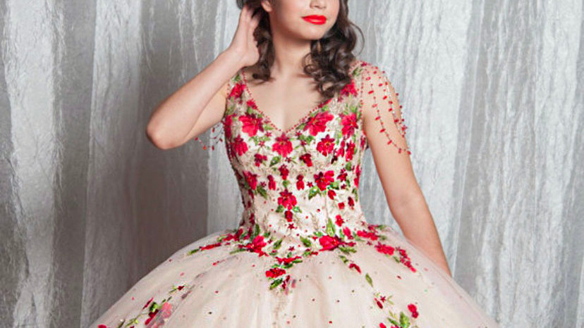 Vizcaya Floral Ball Gown