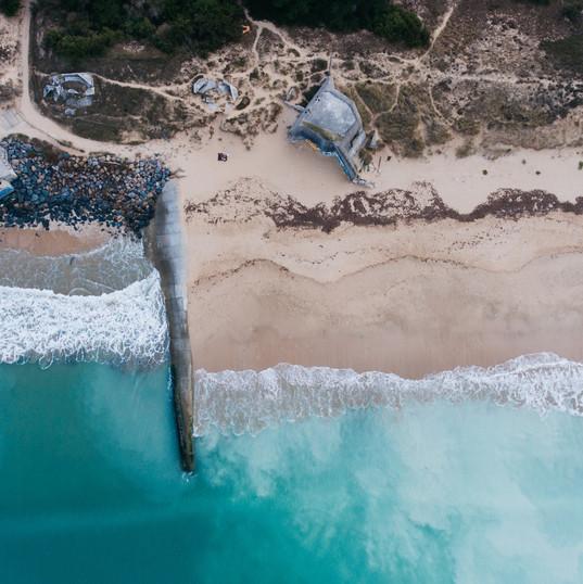 Aerial Photo of a Coast.