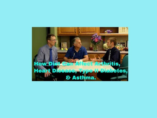 How Diet Can Affect Arthritis, Heart Disease, Type II Diabetes & Asthma