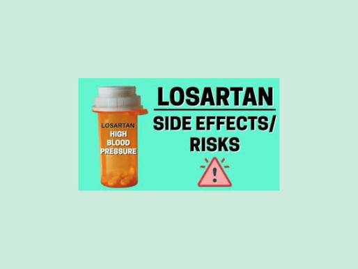 Losartan for High Blood Pressure – What Are the Side Effects & Risks To Know