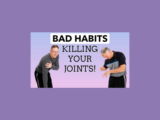 15 Bad Habits Killing Your Joints- What To Do Instead