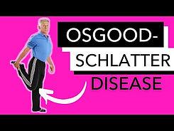 6. HOW TO TREAT OSGOOD- SCHLATTER DISEASE OF THE KNEE.