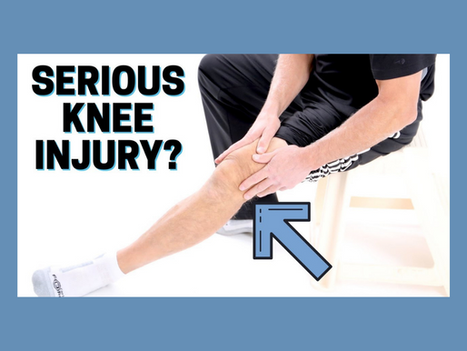 How to Know If You Have a Serious Knee Injury or Problem