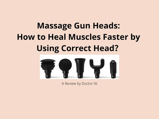 Massage Gun Heads: How to Heal Muscles Faster by Using Correct Head?