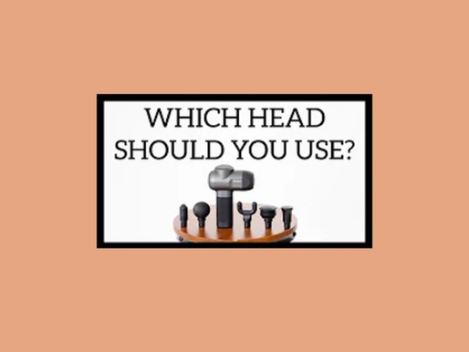Massage Gun Heads: Heal Muscles Faster by Using Correct Head