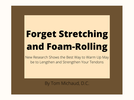 Forget Stretching and Foam-Rolling: