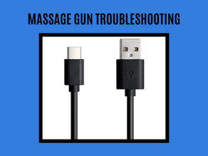 Bob and Brad Massage Gun Won't Take Charge Or Stopped Working?