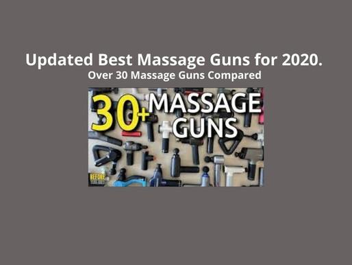 Updated Best Massage Guns for 2020. Over 30 Massage Guns Compared