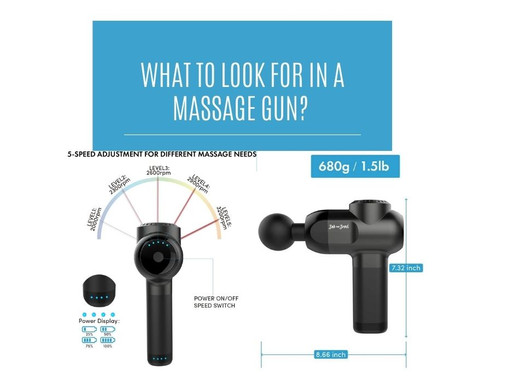 What To Look For In A Massage Gun?