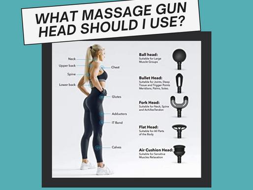 What Massage Gun Head Should I Use?