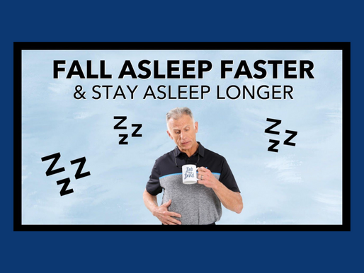 How to Fall Asleep Faster & Stay Asleep Longer. No Meds