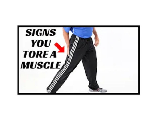 10 Signs You Have Torn A Muscle – How to Treat At Home