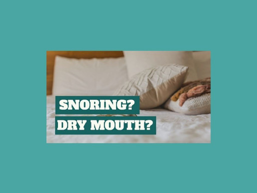 Sleep All Night Without Being Awakened from Snoring or Dry Mouth. Home Remedies