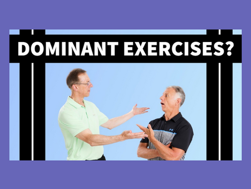 The DOMINANT Exercise for GREAT HEALTH; (Including Weight Loss, Cardio & Back Pain)