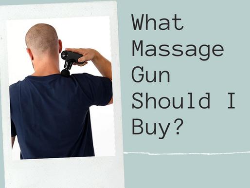 What Massage Gun Should I Buy?