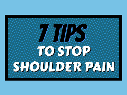 7 Tips to Stop Shoulder Pain While Lifting, Pushing, Pulling, and Carrying Objects