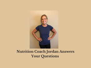 Q & A with Jordan the Nutrition Coach