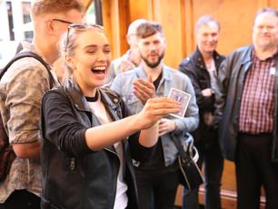 Record Visitor Numbers Attend the Edinburgh International Magic Festival
