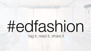 #edfashion hour - Sunday 26th May at 9pm