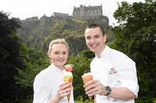 Foodies Festival Edinburgh Launched by Head Chef Brian Grigor of Michelin Starred Number One at The