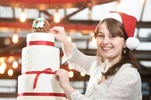 Great British Bake Off Star Flora LaunchesFestival Christmas Edinburgh