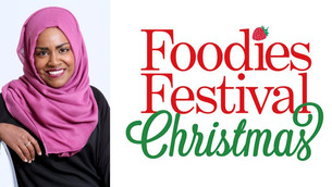GBBO Champ Nadiya Bakes for her London and Yorkshire Fans  for the First Time at Foodies Festival Ch
