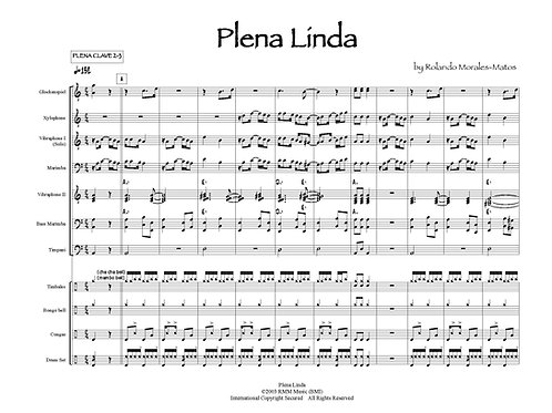Plena Linda (comp/arr Rolando Morales-Matos)