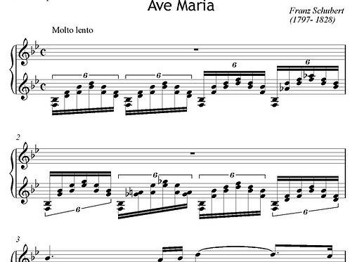 Ave Maria digital (Schubert/arr Lipner) solo vibraphone