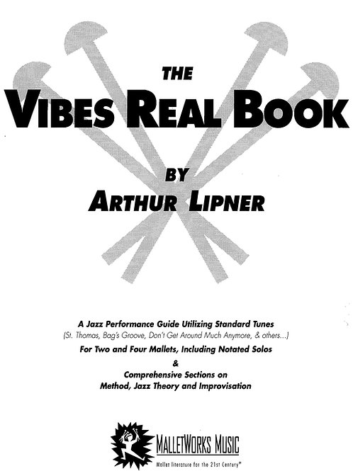 Vibes Real Book (paper) by Arthur Lipner