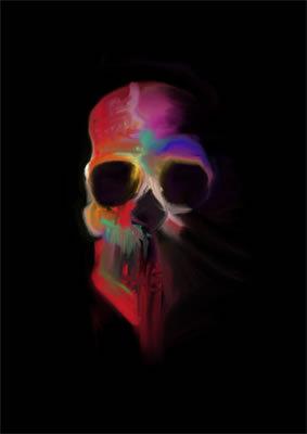Coloured Skull ll