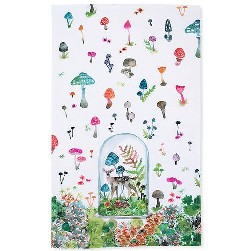 Betsey Olmsted Fawn Tea Towel