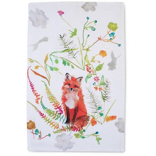 Betsey Olmsted Fox Tea Towel