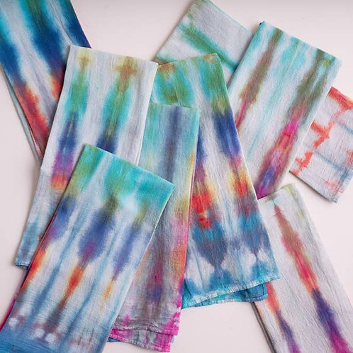 Betsey Olmsted Flour Sack Hand-Dyed Tea Towel