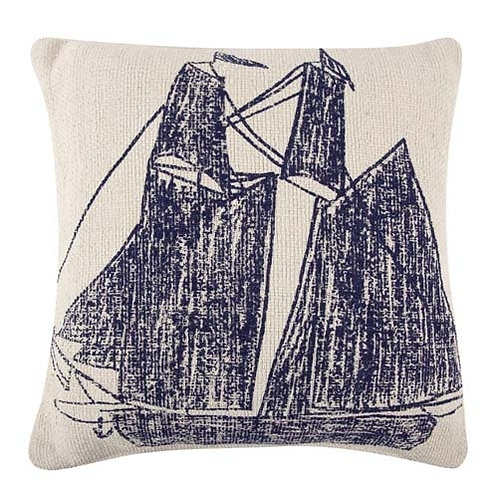 ThomasPaul Grain Sack Ship Pillow