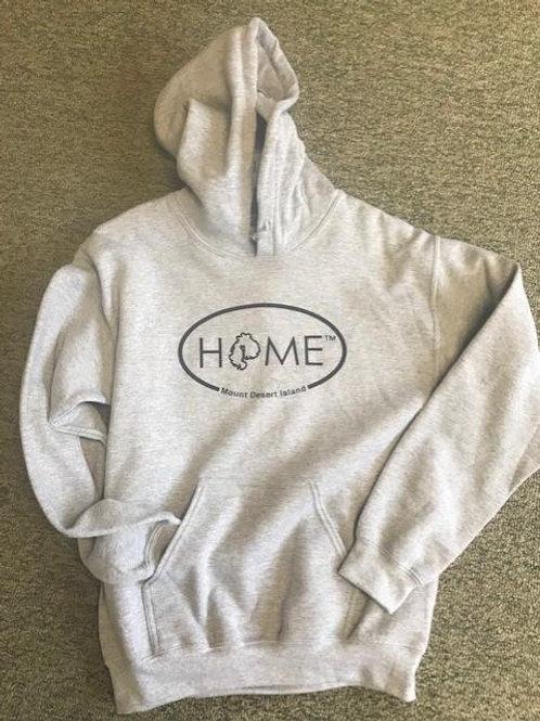 HOME Unisex Grey Hoodie